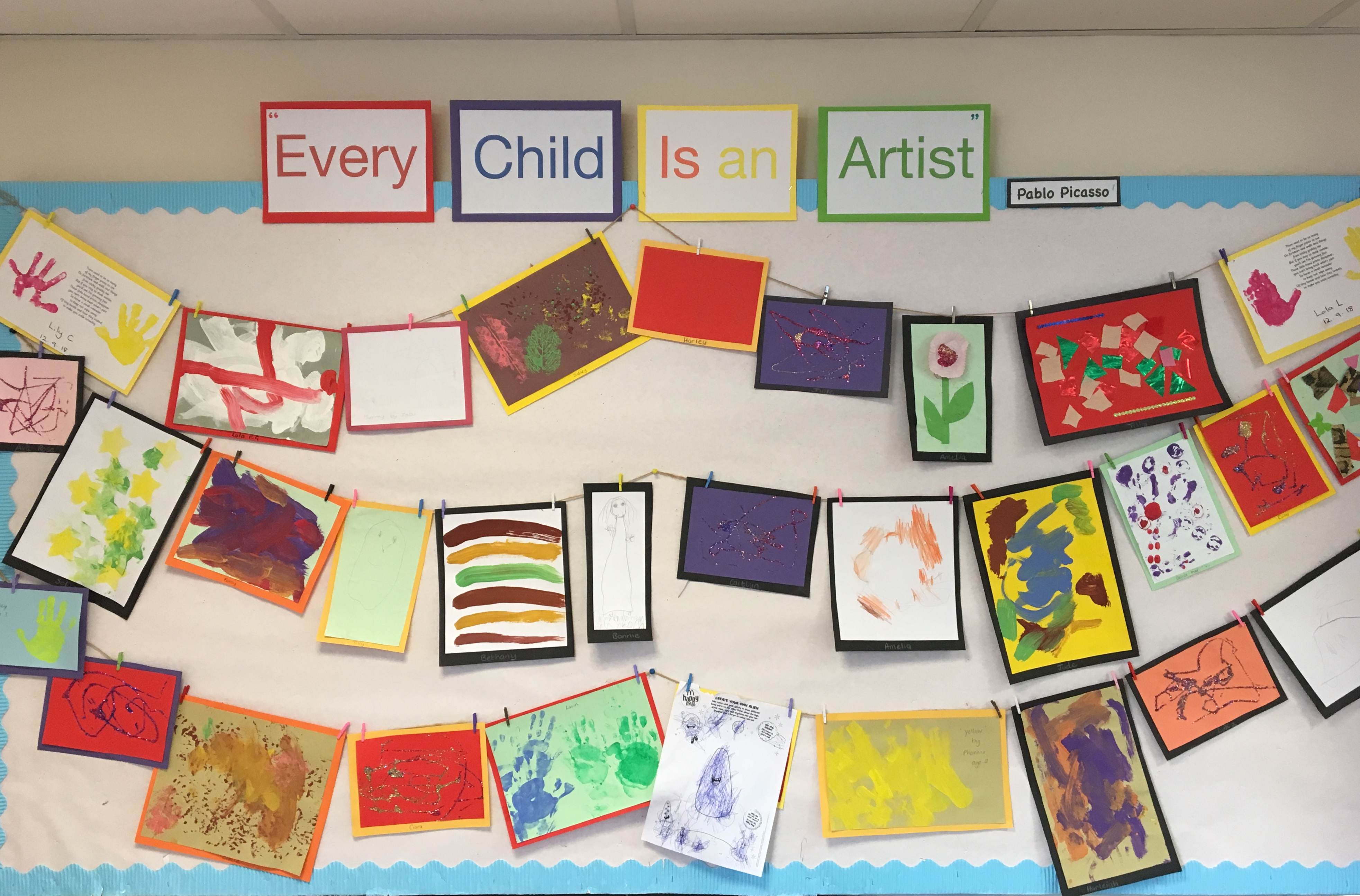 Child Artist Display